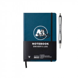 Notebook 25 Years Driver's Log A5