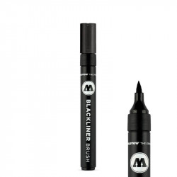 Feutre Molotow Blackliner Brush