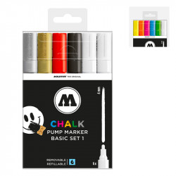 Clearbox marqueurs Chalk 4mm